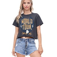 World Tour Crop Top (Black)