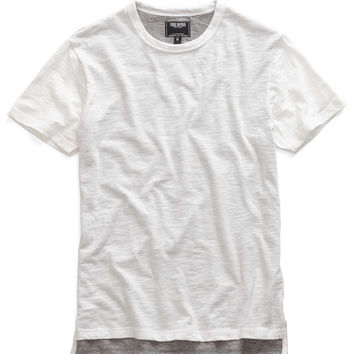 Double Layer Tee in White