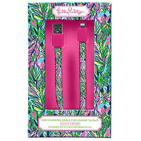 Lilly Pulitzer USB Charging Cable Hot Spot