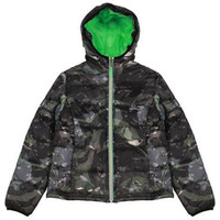 Gaudi - Boys Puffer Winter Jacket, Army Green - 8Y