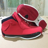 Air Jordan 18 Chicago Bulls Red Sneaker Shoe Us8 13