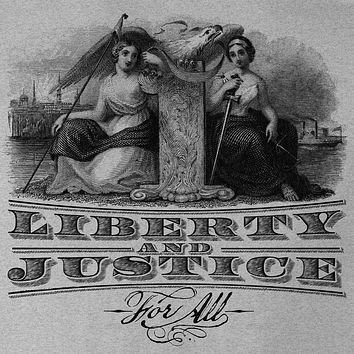 Liberty and Justice For All Graphic T-Shirt