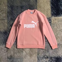 puma fashion print pullover tops sweater sweatshirts-1