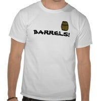 Barrel Pewdie T-shirt from Zazzle.com