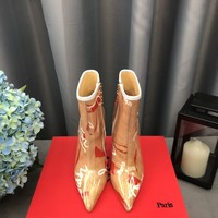 Christian Louboutin Cl Ankle Boots - Best Deal Online