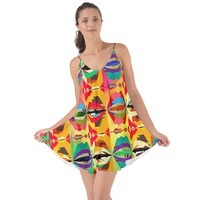 Colorful Shapes Love The Sun Cover Up