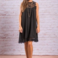 In This Moment Dress, Black