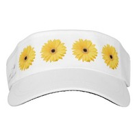 Real Yellow Daisy Hat Headsweats Visor