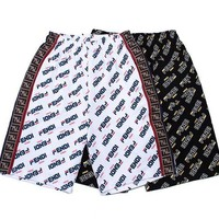 FENDI Fashion Women Men Casual Print Cotton Sport Running Shorts Pants