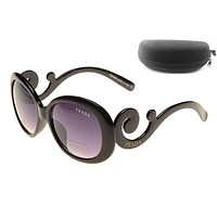 Prada Women Casual Popular Summer Sun Shades Eyeglasses Glasses Sunglasses-20