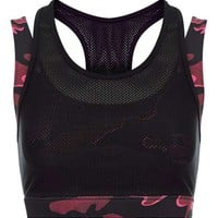 Double Layer Camo Bra by Ivy Park - Ivy Park - Clothing