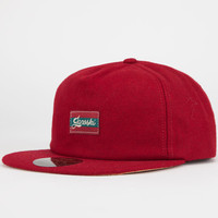 Official Janoski Mens Unstructured Strapback Hat Red One Size For Men 24757030001