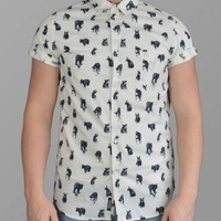 Cuckoos Nest Bear Print Short Sleeved Shirt | Yakuza Clothing