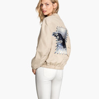 H&M Jacket with Embroidery $49.95