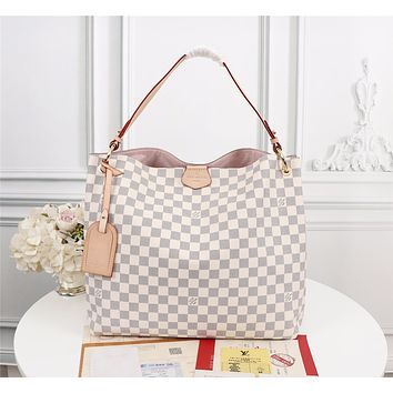 new lv louis vuitton m43703 womens leather shoulder bag lv tote lv handbag lv shopping bag lv messenger bags 42 34 12cm 1