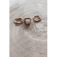 Pearl Of My Eye 6 Piece Ring Set