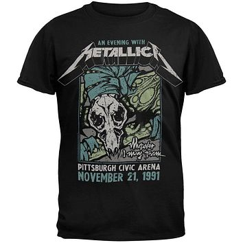 Metallica - Pittsburgh Arena T-Shirt