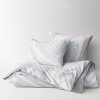 Agate Cotton-Linen Duvet Cover
