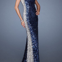 Floor Length O-Neck Mother of the Bride Dresses Sexy Prom Dresses Sequins Sheath Long Evening Dresses U67