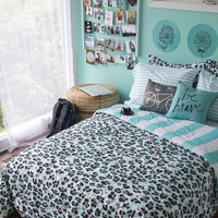 Aeropostale  Jungle Blues Bed-in-a-Bag Set,