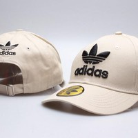 Perfect Adidas Visor hats Women Men Embroidery Sports Sun Hat Baseball Cap Hat