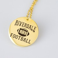Riverdale High Football Necklace