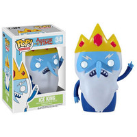 Funko POP! Television - Adventure Time Vinyl Figure - ICE KING (4 inch): BBToyStore.com - Toys, Plush, Trading Cards, Action Figures & Games online retail store shop sale