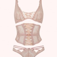 Essie Brief In Nude | By Agent Provocateur