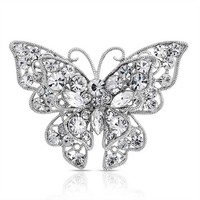 Bling Jewelry Beauty Fly Brooch