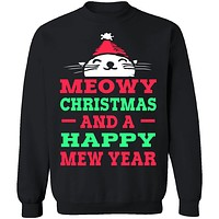 Meowy Christmas And Mew Year T-Shirt