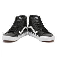 Vans Mens Black / True White SK8-Hi Reissue Trainers