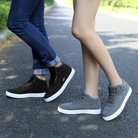 Mens/Lovers Canvas Lace Up Casual Sneakers Flat Low-Top Shoes = 1704178052