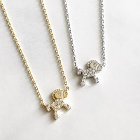 Baby horse necklace