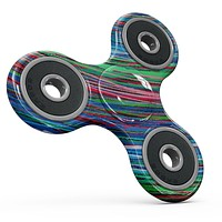Colorful Strokes Full-Body Fidget Spinner Skin-Kit
