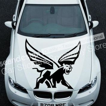 Cool! Totem Flying Leopard TT021 Auto Car Decal Sticker PVC(black,white,red,gray colour)