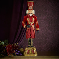 Captain Crimson Nutcracker - Katherine's Collection