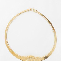 Urban Outfitters - Urban Renewal Gold Coin Necklace