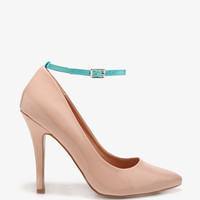Neon Ankle Strap Pumps | FOREVER21 - 2030187577