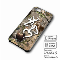Browning Deer Love Realtree Camo iPhone case 4/4s, 5S, 5C, 6, 6 +, Samsung Galaxy case S3, S4, S5, Galaxy Note Case 2,3,4, iPod Touch case 4th, 5th, HTC One Case M7/M8