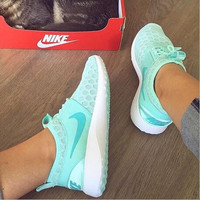 """""""Nike"""" Fresh Color Sneakers Women Sport Shoes Casual Sneakers honeycomb Mint green"""