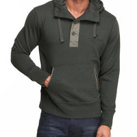 Button Pullover Hoodie by Syn Jeans