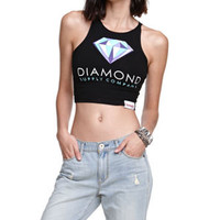 Diamond Supply Co Fitted Cropped Tank at PacSun.com