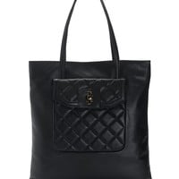 Desert Oasis Quilted Leather Tote by Juicy Couture