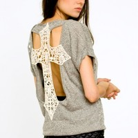 Cross My Heart Top- $33