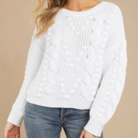 New loose round neck pullover large size sweater