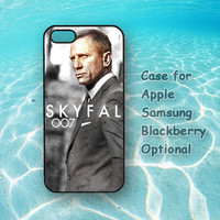 Skyfal 007 for iphone 5 case, iphone 4 case, ipod 4, ipod 5 case,Samsung galaxy S3, Samsung galaxy S4, Samsung note 2, blackberry q10, z10