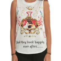 Disney Cinderella Happily Ever After Girls Muscle Top