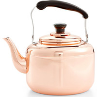 Martha Stewart Collection Heirloom Copper Tea Kettle, Only at Macy's - Cookware & Cookware Sets - Kitchen - Macy's