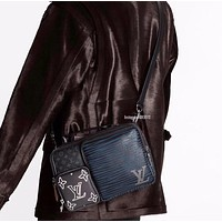 LV Leather Shoulder Bag Satchel Tote Bags Top quality, perfect quality  highest quality lv package in the whole network