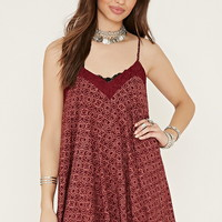 Ornate Print Cami Dress